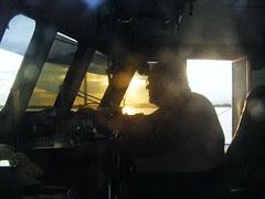 Sunset, Belize Cayes - DSCF2337
