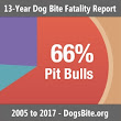 Nonprofit Releases Multi-Year Report: U.S. Dog Bite Fatalities Over a 13-Year Period; Breeds of Dogs Involved, Age Groups & Other Factors