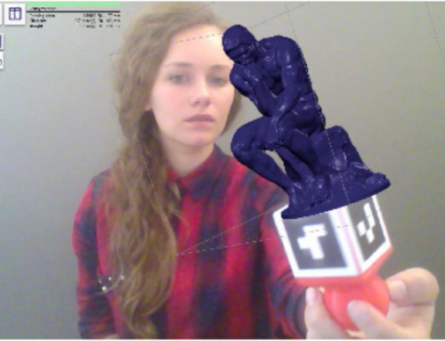 Augmented reality to enhance 3D printing