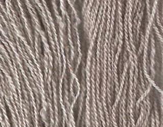 My 2 silver Shetland yarns.