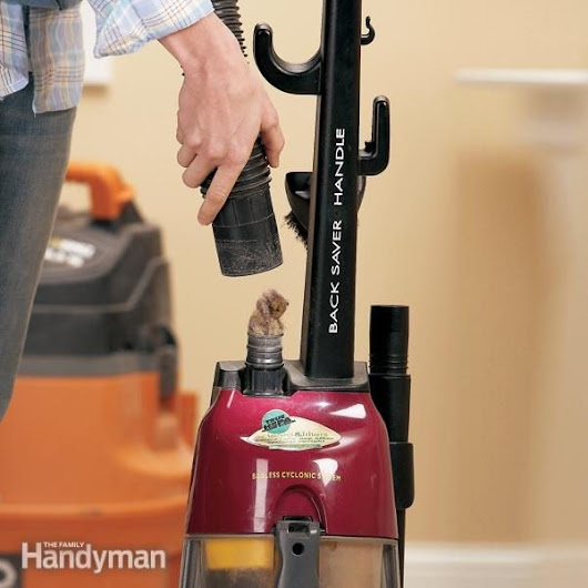Vacuum Cleaner Repair: Clean Out Clogs | The Family Handyman