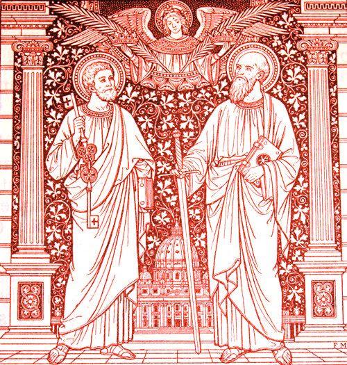 Święci Piotr i Paweł