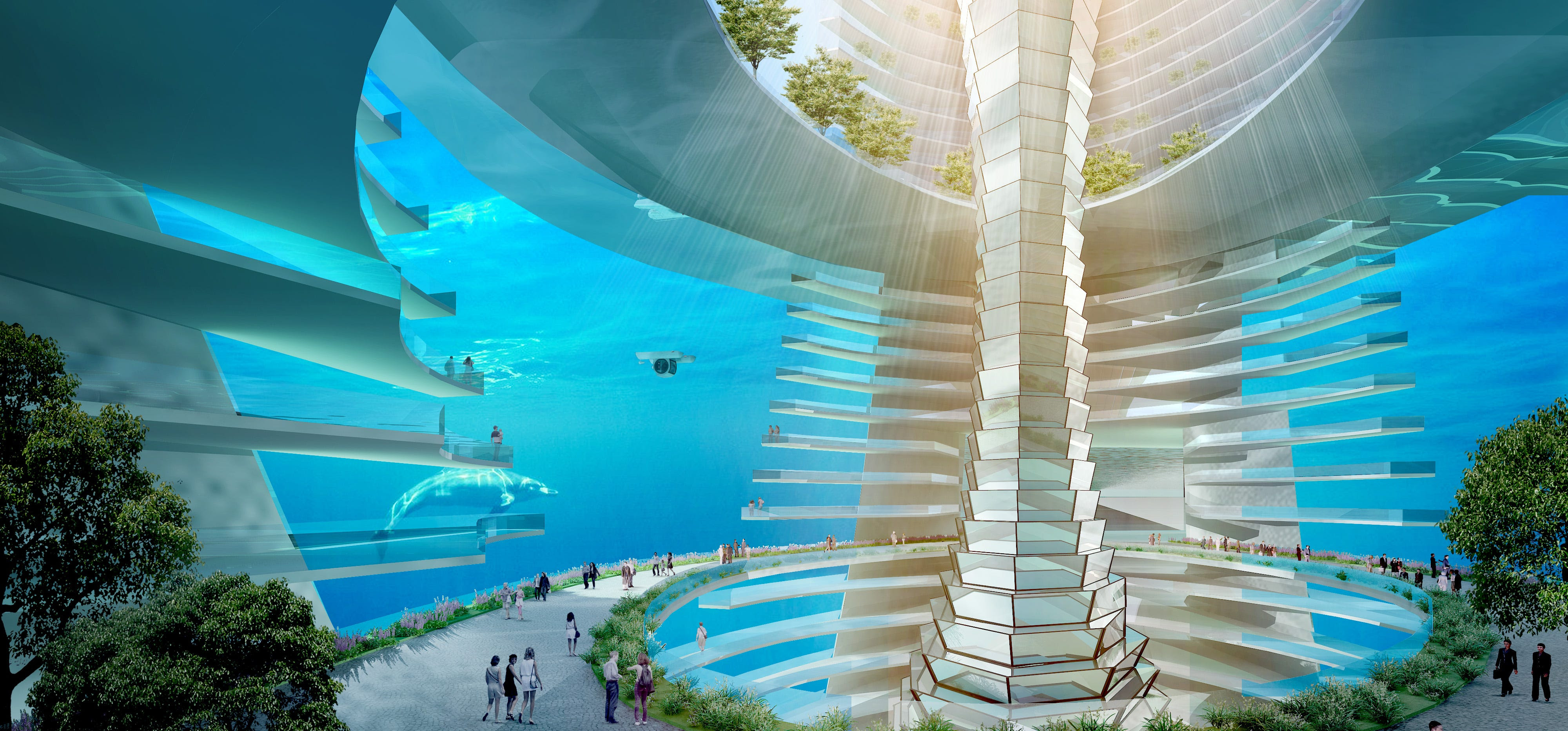 This iFuturistici Floating iCityi Could Become A Reality In