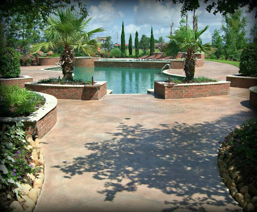 Decorative Concrete for Your Pool Deck