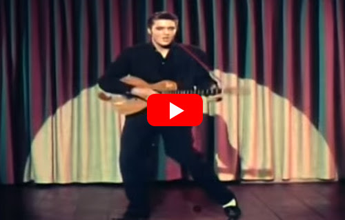 Someone Altered Elvis's Video For 'Blue Suede Shoes'... And I Can't Stop Laughing!