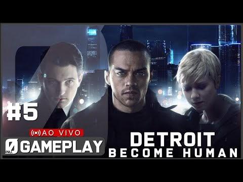 Detroit: Become Human #5 Um Convite à liberdade (PT-BR no PC)| #NV0LIVE
