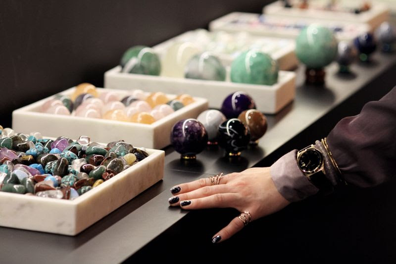 Selfridges Christmas Precious Stones
