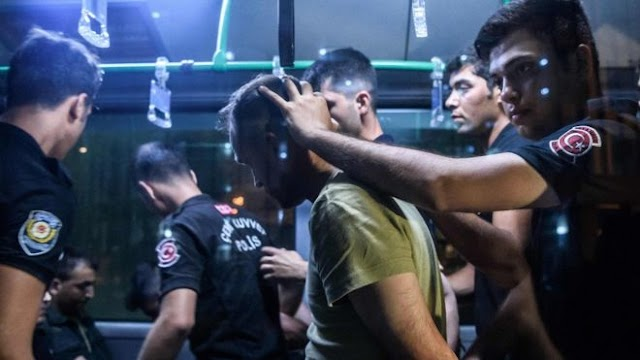 Turkey coup attempt: More Than 6,000 people detained, says minister