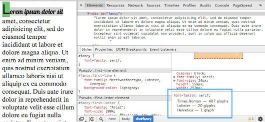 DevTools answers: What font is that? | Web Updates - Google Developers