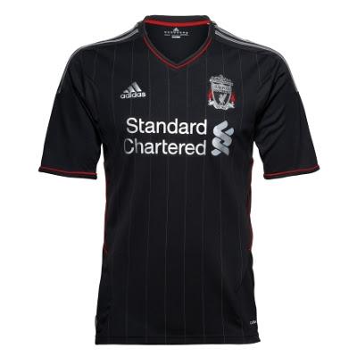 Adidas New Liverpool Away Jersey 2011/12 | Football Kit News| New Soccer Jerseys