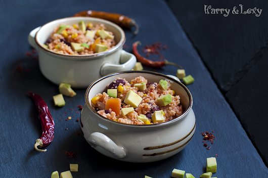 Moroccan Couscous with Vegetables Recipe - Harry & Lexy's Workshop