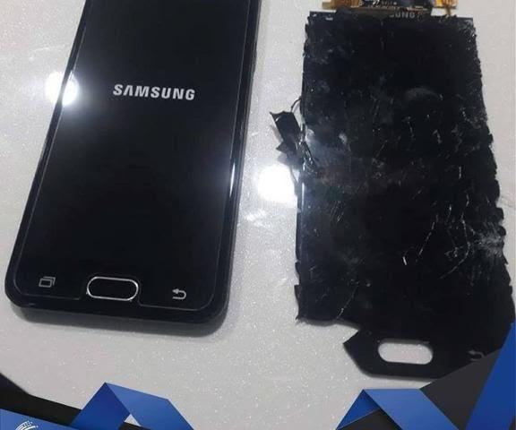 Troca de tela Samsung