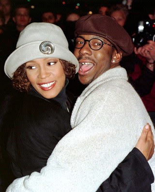 Whitney Houston e Bobby Brown (foto de arquivo) (Foto: Agência Reuters)