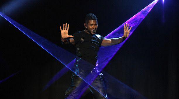 The Ellen DeGeneres Show (12/2012), Usher