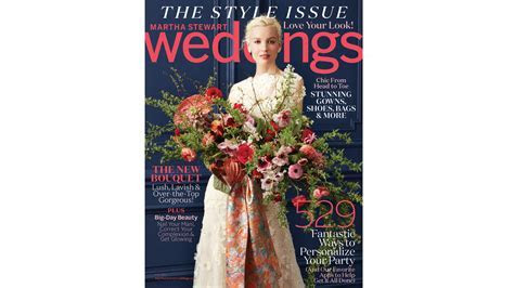 Go Inside Our Brand New Fall Issue!   Martha Stewart Weddings