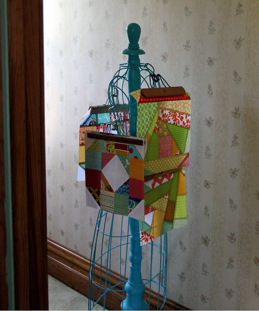 Hallway Bee Block Holder :)