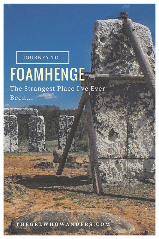 Journey to Foamhenge - The Strangest Place I've Ever Been