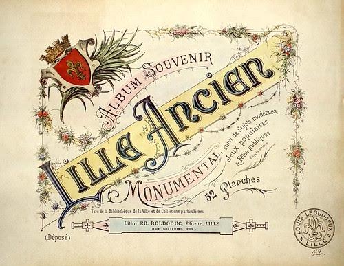 Album Souvenir - Lille Ancien - Edouard Boldoduc 1893