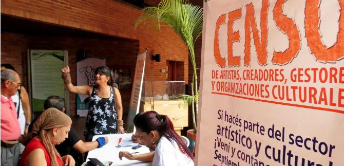 Se inició el censo para artistas que residen en Cali