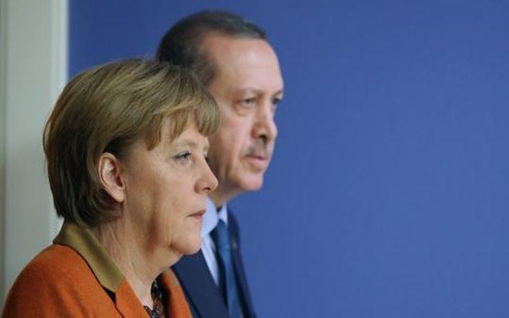 Άνγκελα Μέρκελ Ερντογάν Merkel Erdogan