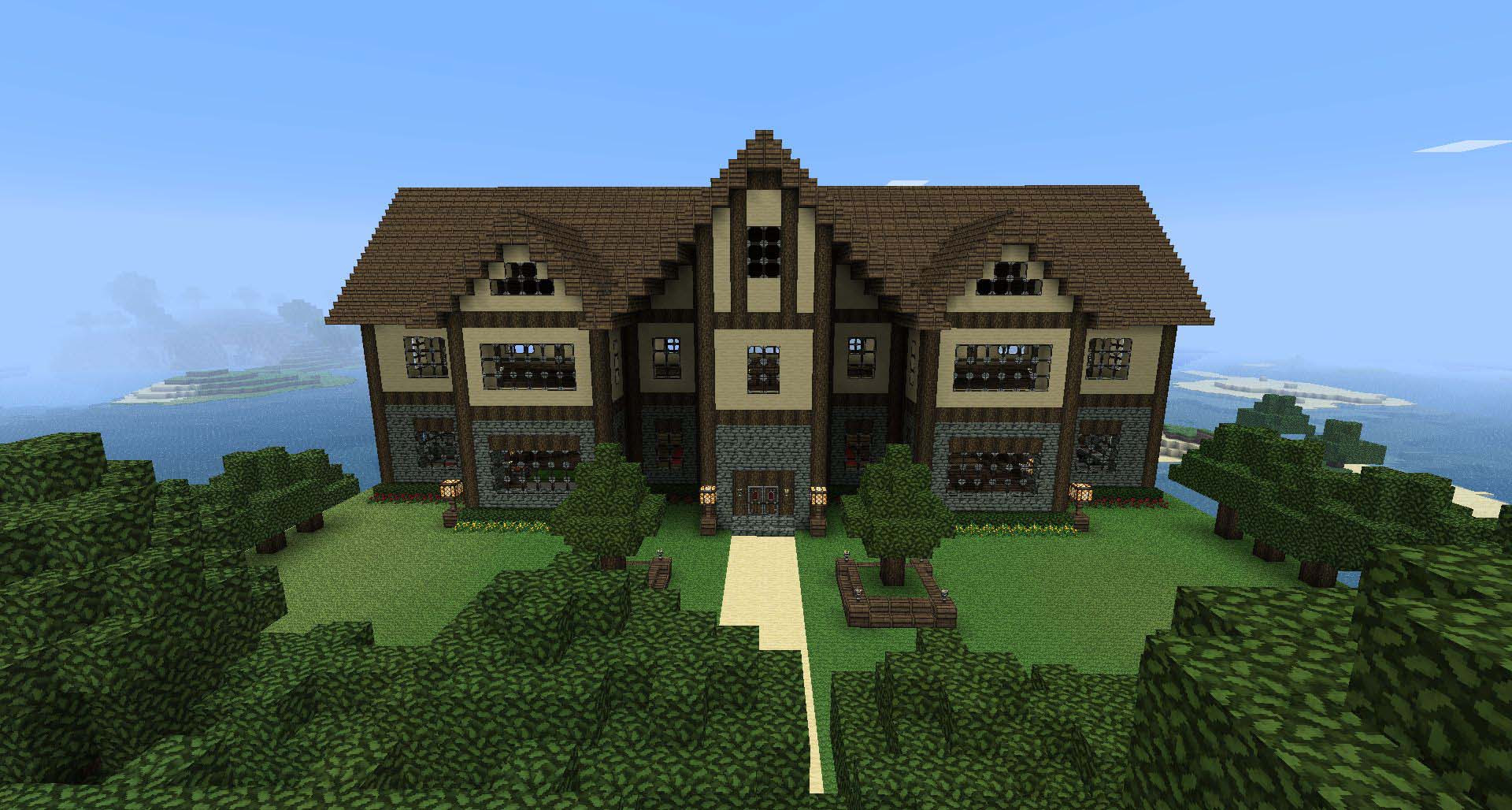 Spanish Style House Minecraft Best Home Style Inspiration
