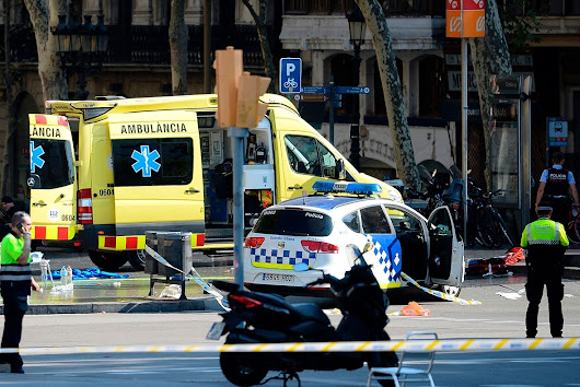 Barcelona terror attack: First images from Las Ramblas