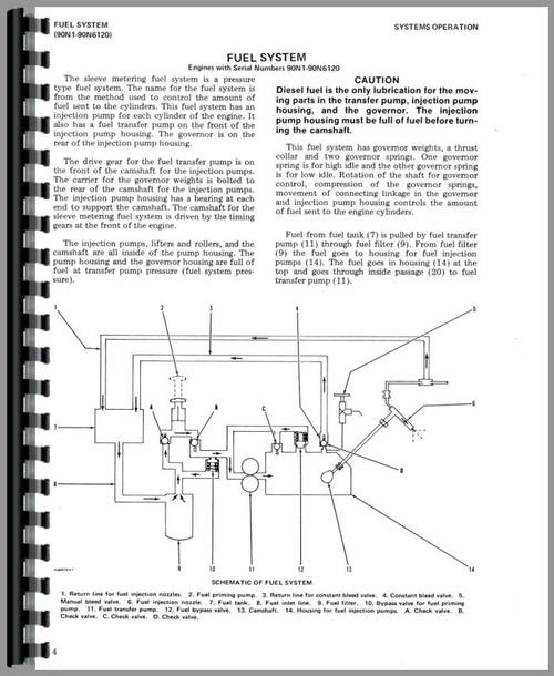 Cat 3208 Fuel System Diagram