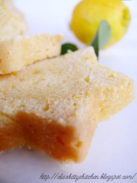 Plumcake stellare alla marmellata di limone