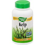 Natures Way Kelp, 600 mg, Vegetarian Capsules - 180 capsules