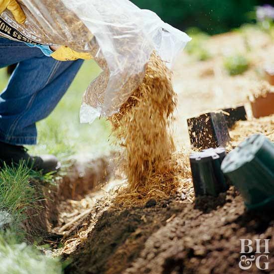 Step 7: Spread Mulch