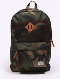Herschel Camouflage Heritage Backpack