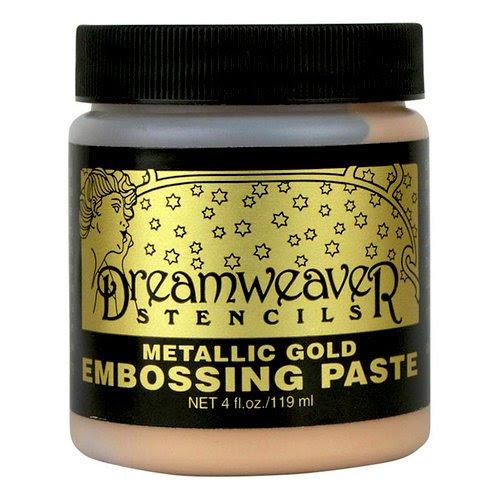 Metallic Gold Embossing Paste