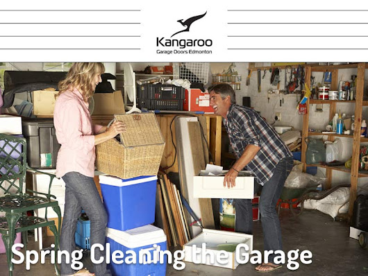 Spring Cleaning the Garage - Kangaroo Garage Doors