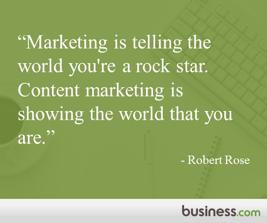 Quote of the Day from Business.com: