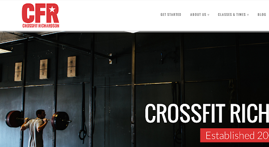 CrossFit Richardson Website Design