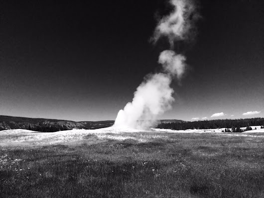 "Brandon Arthur on Twitter: ""I get you Earth, sometimes we all need to let off a little steam. #yellowstone #oldfaithful """