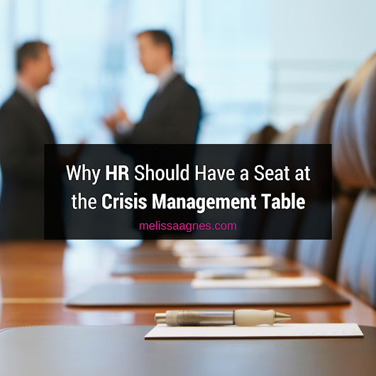 Why HR Should Have a Seat at the Crisis Management Table