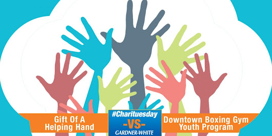 #Charituesday Contest – Gift of a Helping Hand vs. Downtown Boxing Gym Youth Program – Gardner-White Blog