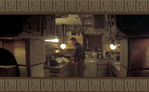 Weirldy timeless interiors of Blade Runner  My Friends House