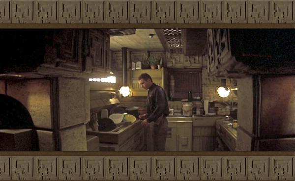 Weirldy timeless interiors of Blade Runner  My Friends House