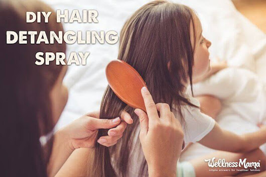 Natural Hair Detangling Spray (Chemical-Free DIY Recipe)
