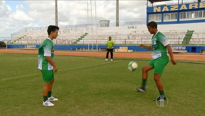Palmeira de Goianinha - estádio Nazarenão (Foto: Reprodução/Inter TV Cabugi)