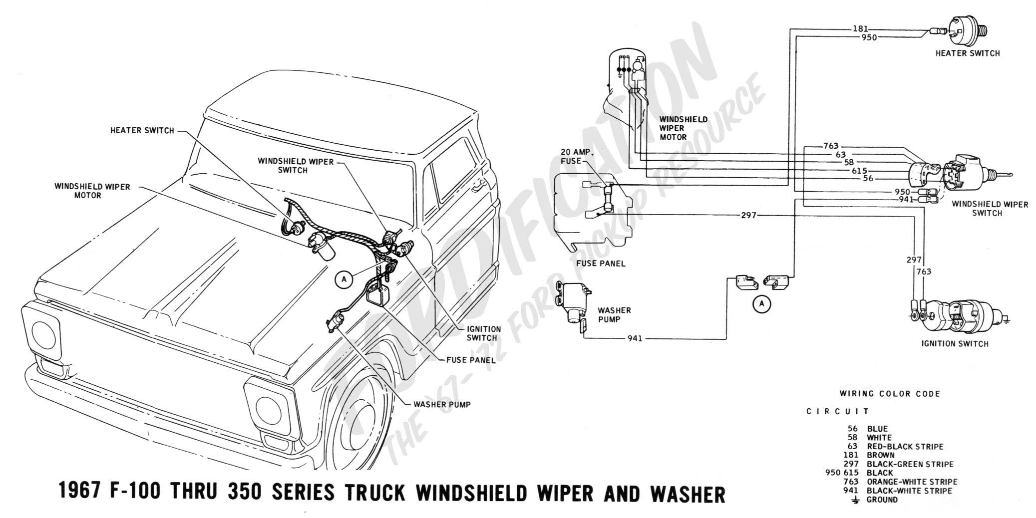 1970 Ford F100 Wiring Harnes
