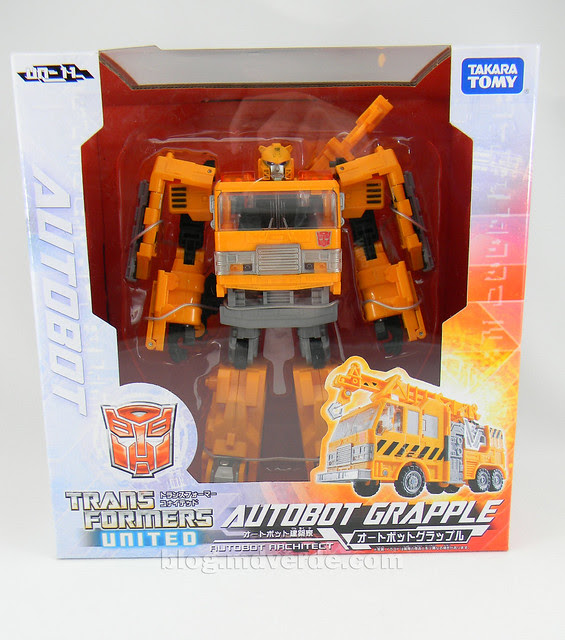 Transformers Grapple United Voyager - caja