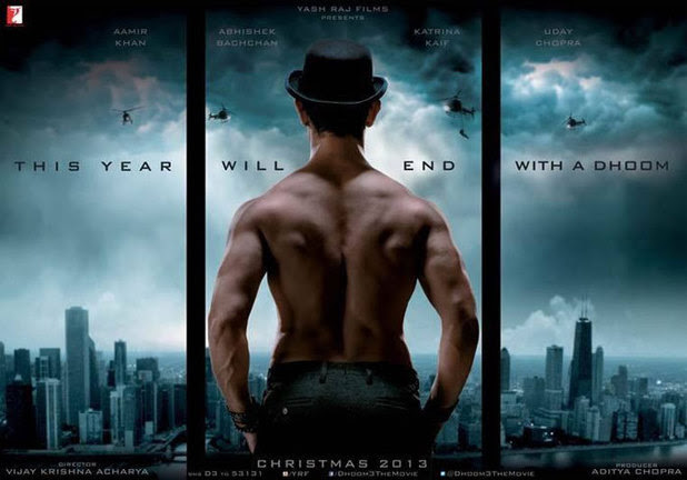 DHOOM 3 official Poster