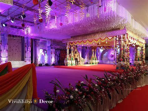 Radhika Daughter Rayanee wedding Decoration by Vivahhika