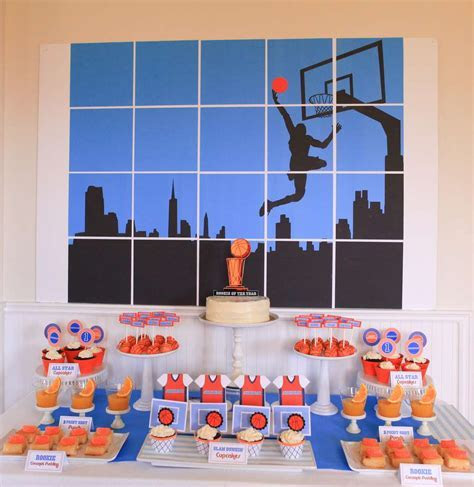 Basketball Birthday Party Ideas   Photo 1 of 32   Catch My