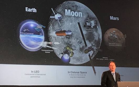 Acting NASA administrator's parting words: Accept risk wisely, with 'eyes wide open'