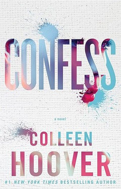 "ROMANCE: ""Confess"" by Colleen Hoover"