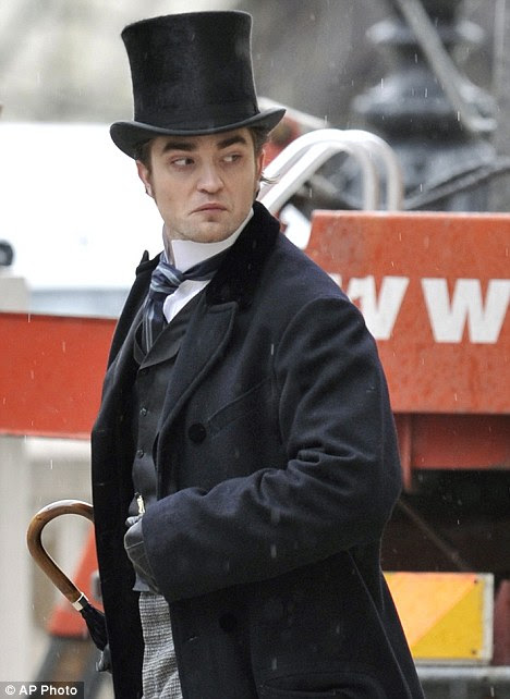 Different kind of role: Pattinson plays 19th century lothario Georges Duroy in upcoming film Bel Ami
